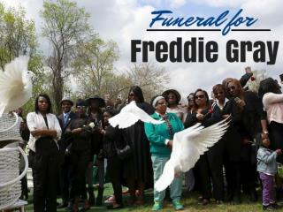 Funeral for Freddie Gray