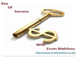 Key Of Success With Erum Mahfooz
