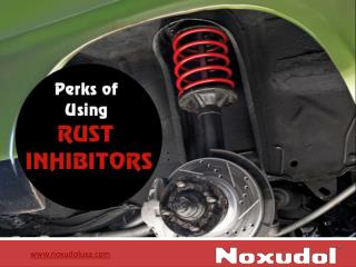 Applications of Using Rust Inhibitors