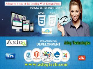 Aslogtech is one of the Leading Web Design Firms