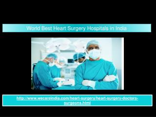 World Best Heart Surgery Hospitals in India