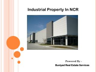 Industrial Property in Noida - A place for Business