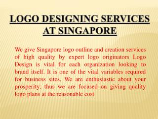 Logo Designing Services at Singapore