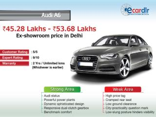 Audi A6 available in 3 variants