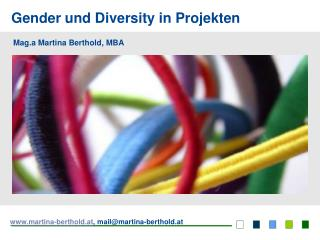 Gender und Diversity in Projekten