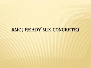 Ready Mix Concrete In Cochin