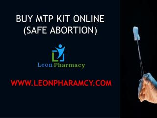 MTP KIT (Abortion Pills)is a quality approved medicine