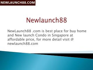 Book Online Freehold New Launch Condo Property in Singapore