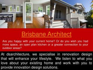 Architects Brisbane