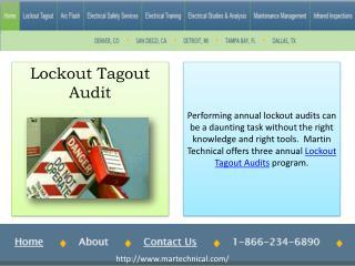 Lockout Tagout Audits