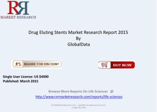 In-depth Analysis of Drug Eluting Stents Market