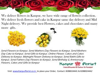 Send Mothers Day Flowers to Kanpur