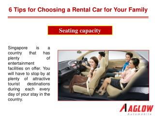 6 Tips for Choosing a Rental Car for Your Family