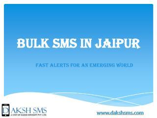 Bulk SMS in Jaipur
