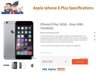 Apple Iphone 6 Plus Specifications