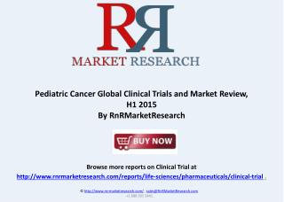 Pediatric Cancer Clinical Trials Review 2015