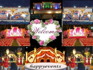 Event Management Company In Jodhpur - Happy Events