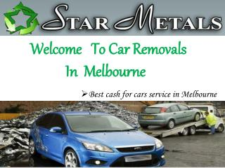 Car Removals in Melbourne - Car Removal