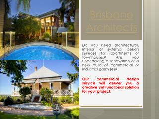 Architects Brisbane