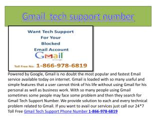 Gmail password recovery number 1-866-978-6819 Gmail password