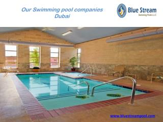 Swimming pools companies Dubai