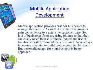 mobile application development, mobile application developme