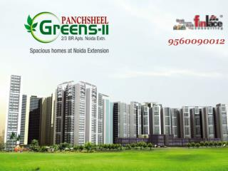 Panchsheel Greens 2- pay just 2% and book your home