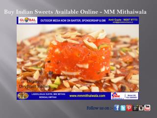 Buy Indian Sweets Online - MM Mithaiwala