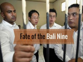Fate of the Bali Nine