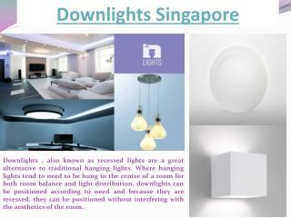 Downlights Singapore