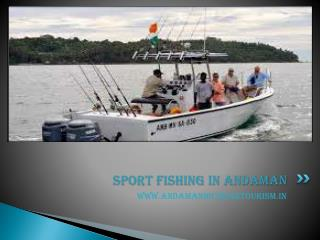 Sport fishing in Andaman