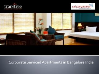 Corporate serviced apartments in Bangalore India Transtree
