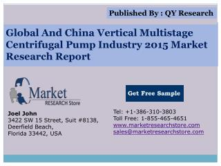 Global and China Vertical Multistage Centrifugal Pump Indust
