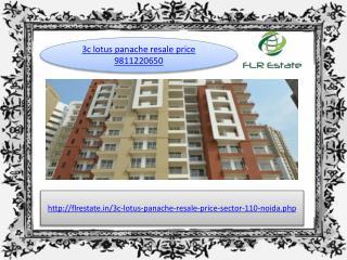 3c lotus panache 9811220650 resale noida expressway, ready t