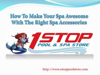 How to make your spa awesome with the right spa accessories