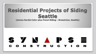 Synapse Construction - Seattle Residential Siding Project (J