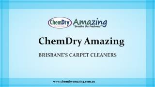 ChemDry Amazing - Brisbane's Carpet Cleaners