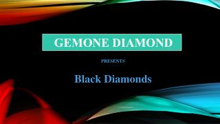 Black Diamonds | Gemone Diamond