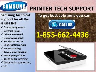 Samsung Printer Technical (1-855-662-4436) Support