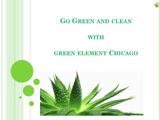 Go Green With Eco Friendly Products - Green Cleaners