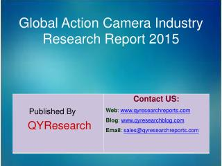 Global Action Camera Market 2015 Industry Trend, Analysis