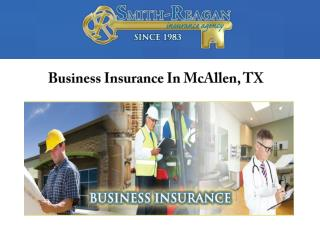 Business Insurance In McAllen, TX