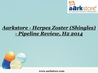 Aarkstore - Herpes Zoster (Shingles) - Pipeline Review, H2 2