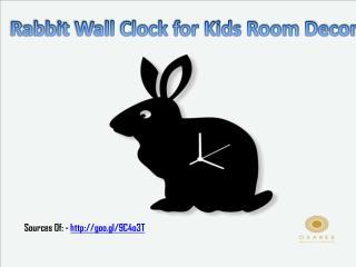 Kid's Designer Wall Clocks