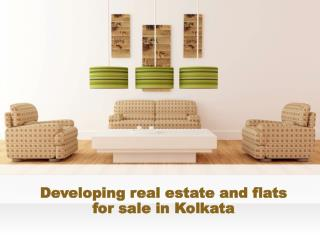 Developing real estate and flats for sale in Kolkata