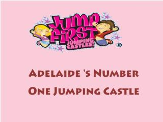 Number 1 for jumping castle hire in Adelaide