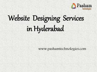 website Designing Services in Hyderabad