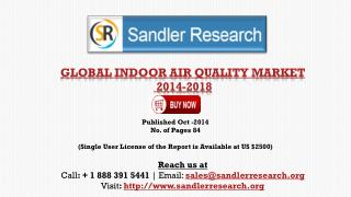 Indoor Air Quality Market Research and Analysis