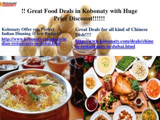 Great Food Deals