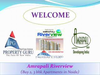2,3 Bhk Residential Flats in Amrapali Riverview
